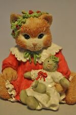 Calico Kittens: Dressed in Our Holiday Best - 628190 - Cat with Doll - Mouse