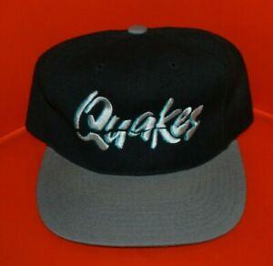 VTG 90s Rancho Cucamonga Quakes Minor Snapback Baseball Hat Cap Headmaster Nice
