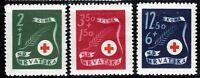 Kroatien 167-69 **, Rotes Kreuz
