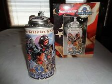Budweiser Honoring Tradition And Courage Air Force 1999 Stein
