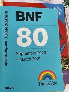 BNF 80 September 2020 - March 2021 Paperback +BNF Children September 2020-21