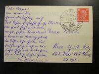 Germany 1928 Postcard w/ Leipzig Messestadt Cancel - Z6524