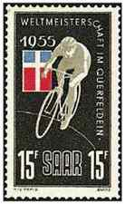 Timbre Sports Cyclisme Sarre 339 ** lot 20880
