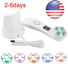 Portable Ultrasonic RF Facial Skin Tightening Electroporation LED Photon Machine