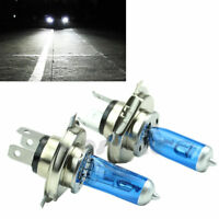 2x Super White H4 100W 9003 HB2 Bi-Xenon HID High Low Beam Headlight Bulb 6000K