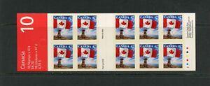 G668 Canada 1998 47c. Flag & Inukshuk COMPLETE BOOKLET MNH