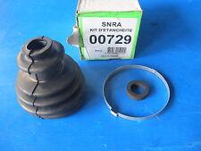 Soufflet de cardan gauche ou droit côté roue S.N.R.A pour: R18, Fuego, R19, R20,