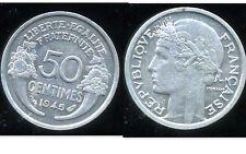 50 centimes MORLON  alu  1945     SUP  ( bis )