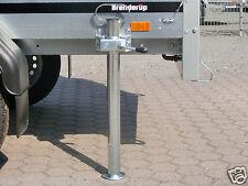 Stütze Abstellstütze Set für Brenderup 1205 S Anhänger mit Befestigung