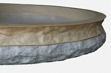 Stone Master Molds Chiseled Edge Concrete Countertop Edge Form Liner 10x25