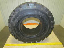 Watts 350x15 975 Solid Pneumatic Forklift Tire Deep Traction Tread New