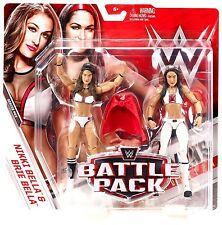 WWE Battle Pack Series 43 NIKKI BELLA & BRIE BELLA Divas Action Figures