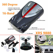 16-Band 360 Degree Cobra XRS9880 Laser Anti Radar Detector Led display Universal