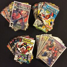 TRANSFORMERS #1 - 100 Comic Books COMPLETE Marvel & IDW Regeneration 1st Prints