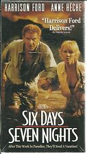 Six Days, Seven Nights (VHS, 2002) NEW FACTORY SEALED HARRISON FORD ANNE HECHE