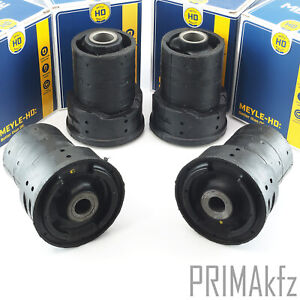 4x Meyle 3003331111/HD Barrel Roller Socket Rear Reinforced BMW 5er E39+