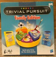 Hasbro Trivial Pursuit Family Edition Board Game - Complete With Instructions