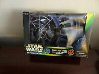 Star Wars Final Jedi Duel The Emperor, Darth Vader, and Luke    1997 KENNER