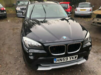 2009 (59) BMW X1 XDRIVE 2.0D SE AUTO 174 BHP NO RESERVE SPARES OR REPAIR