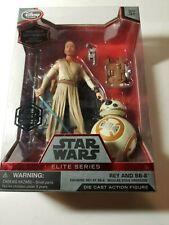 Brand New Disney Store Star Wars Elite Series Rey & BB-8 Diecast