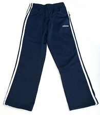 Adidas 3-Stripe Boy's Athletic Active Fleece Pants Navy Blue / White Select Size