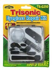 Eyeglass Sunglass Repair Kit 15 Pieces Trisonic TS-G250 Free Shipping