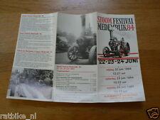 FLYER STOOM FESTIVAL MEDEMBLIK 1984 22-23-24 JUNI