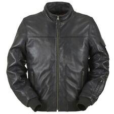 Blousons noirs Furygan en cuir pour motocyclette
