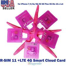 R-SIM11+ LTE 4G Smart Cloud Card Unlock Card for iPhone 8/7/6/6s/5S/5C SE Plus