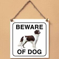 Drentse Patrijshond 0 Beware of dog Targa cane cartello ceramic tiles