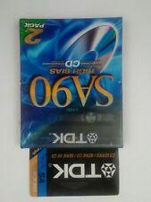 TDK SA90 High Bias Blank Cassette 2 Pack SA-90L2