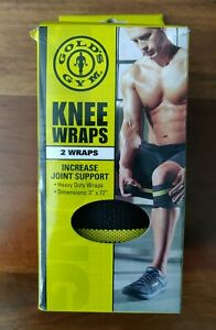 Gold's Gym Knee Wraps - New in Box