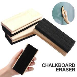 Blackboard Whiteboard Eraser Rubber Chalkboard Duster Cleaner School Suppies