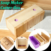 DIY Silicone Soap Loaf Mold Wooden Box Making Tools Adjustable Planer Cutter