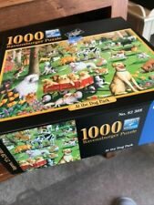Ravensburger 1,000 Pieces Jigsaw Puzzle -  At The Dog Park