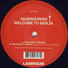 "Silversurfer – Welcome To Berlin VG++ Lasergun LG025 VINYL 12"" TECHNO"