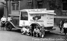 A Good Humor Ice Cream Truck - circa 1930s - Historic Photo Print