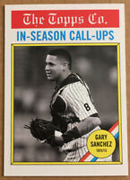 2017 Topps Throwback Thursday TBT Gary Sanchez #101 In Season Call-Ups  SP-1029