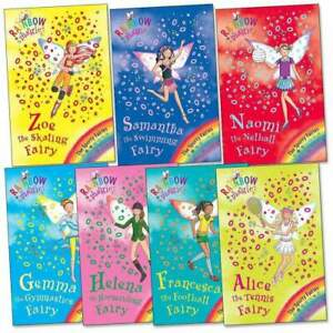 Rainbow Magic Sporty Fairies Collection Daisy Meadows 7 Books Set Series 9 (Vol