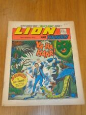 LION & THUNDER 18TH AUGUST 1973 BRITISH WEEKLY COMIC FLEETWAY^