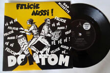 DOMTOM félicie aussi (rap musette) 1989 french promo EP   MINT/ MINT Unplayed