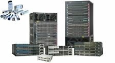 * Used Ws-C3850-24T-E 10/100/1000 Ethernet ports, with 350Wac Ip Services