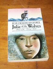 JULIE OF THE WOLVES, Jean Craighead George (1995, Paperback)