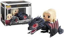 Exclusive Pop Rides Game Of Thrones Daenerys & Drogon Funko Action Figures Toys