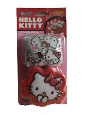 Hello Kitty 100 Puffy Glitter Stickers With Storage Box