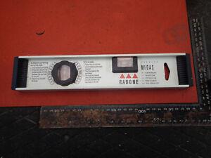Rabone Midas 300mm angle setting bubble level VH33N4014