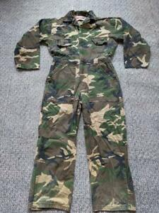 vintage WINCHESTER camouflage overalls S hunting 1Pc jumpsuit WOODSLAND suit
