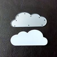 Sizzix Die Cutter CLOUD Thinlits fits Big Shot Cuttlebug