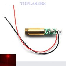 Indrstrial Red Dot 650nm 50mw Laser Diode Module w Driver Out APC Lazer
