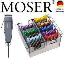MOSER PROFI 1400 EDITION HAARSCHNEIDER + EDELSTAHL AUFSCHIEBEKAMM-SET 0,1MM-25MM